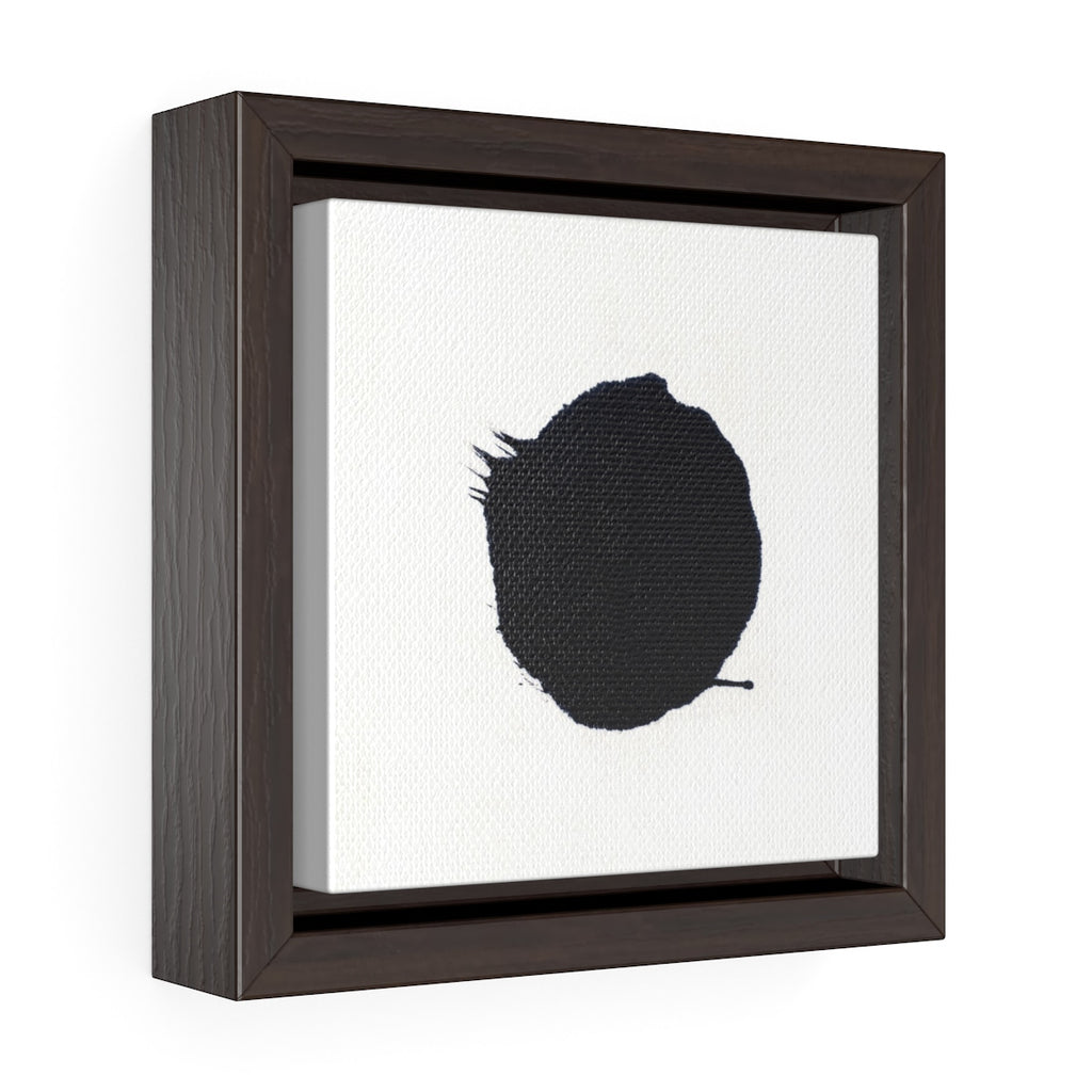 Primordial Dot Square Framed Premium Gallery Wrap Canvas