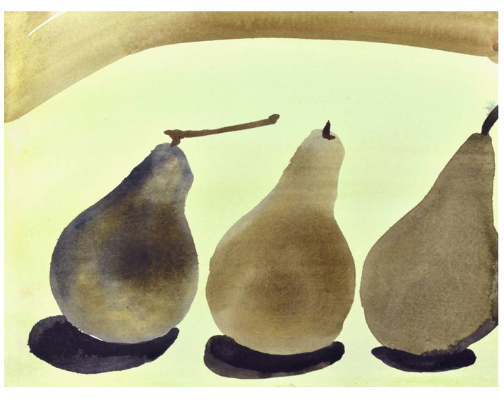Still Life (Three Pears)