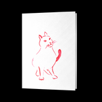 Cat Folded Card