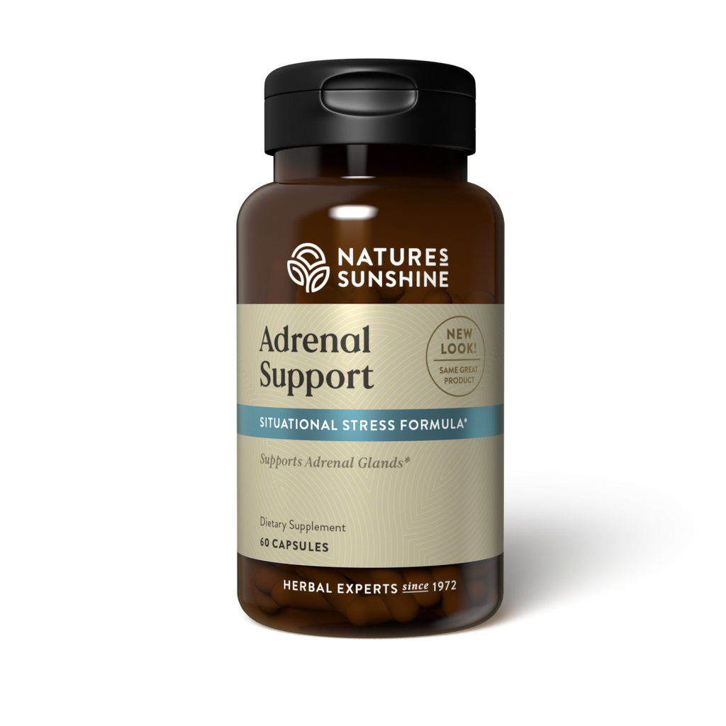 Nature's Sunshine Adrenal Support (60 caps) - Nature's Best Health Store