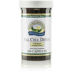 Nature's Sunshine All Cell Detox (100 caps) - Nature's Best Health Store