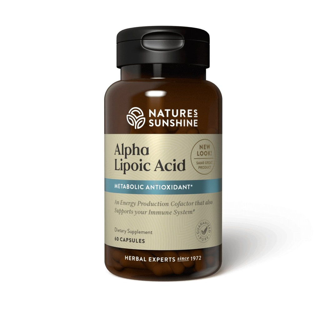 Nature's Sunshine Alpha Lipoic Acid (60 caps) - Nature's Best Health Store