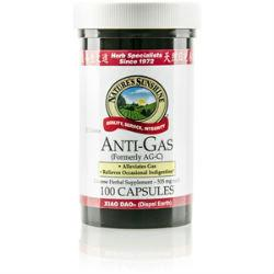 Nature's Sunshine Anti-Gas, Chinese (100 caps) - Nature's Best Health Store