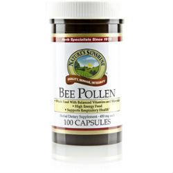 Nature's Sunshine Bee Pollen (100 caps) - Nature's Best Health Store