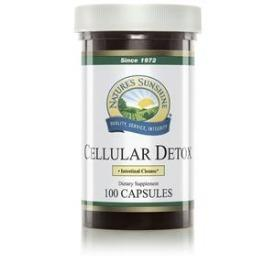 Nature's Sunshine Cellular Detox (100 Caps) - Nature's Best Health Store