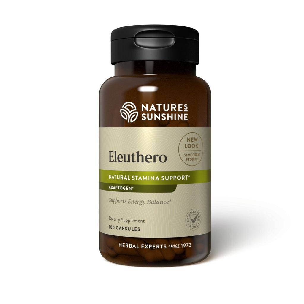 Nature's Sunshine Eleuthero (100 caps) - Nature's Best Health Store
