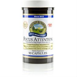 Nature's Sunshine Focus Attention (90 caps) - Nature's Best Health Store