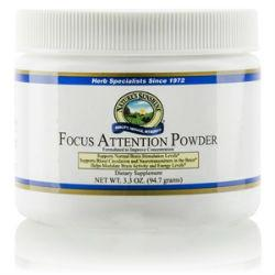 Nature's Sunshine Focus Attention Powder (3.3 oz.) - Nature's Best Health Store