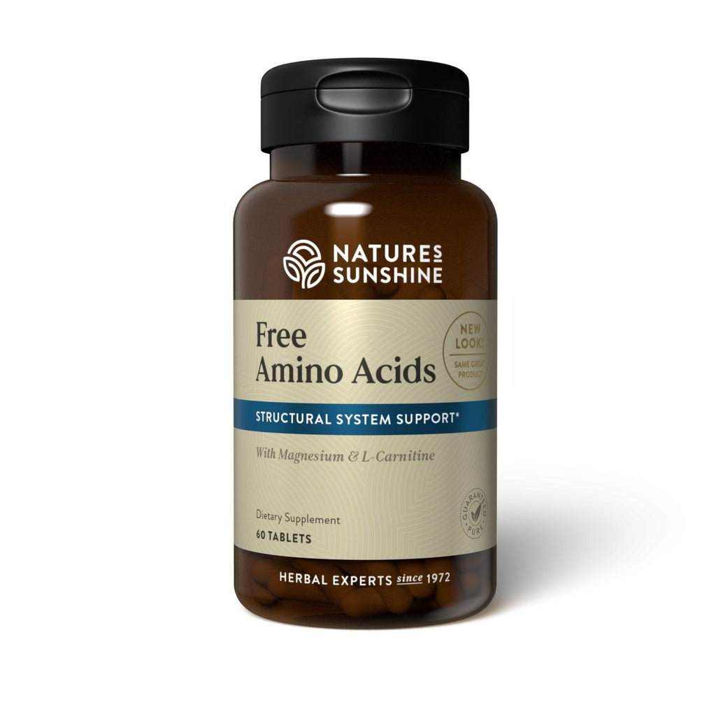 Nature's Sunshine Free Amino Acids (60 tabs) - Nature's Best Health Store