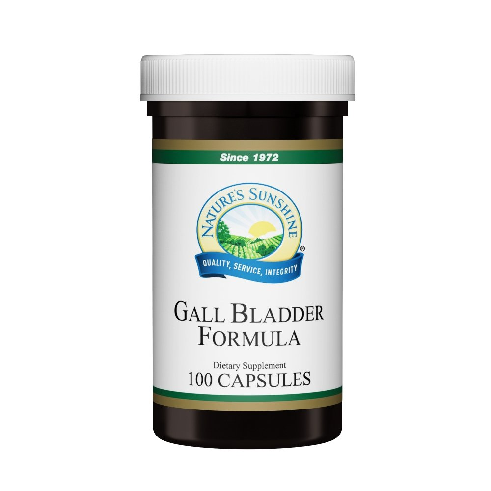 Nature's Sunshine Gall Bladder Formula (100 caps) - Nature's Best Health Store