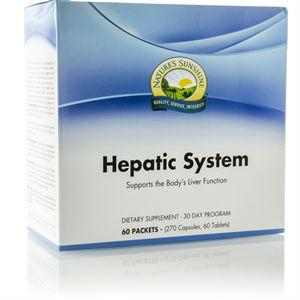 Nature's Sunshine Hepatic System Pack (30 day) - Nature's Best Health Store