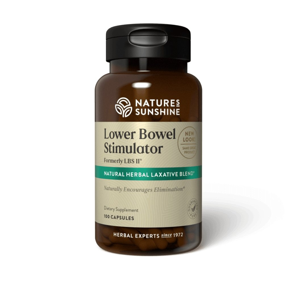 Nature's Sunshine LBS II® (100 caps) Lower Bowel Stimulator - Nature's Best Health Store