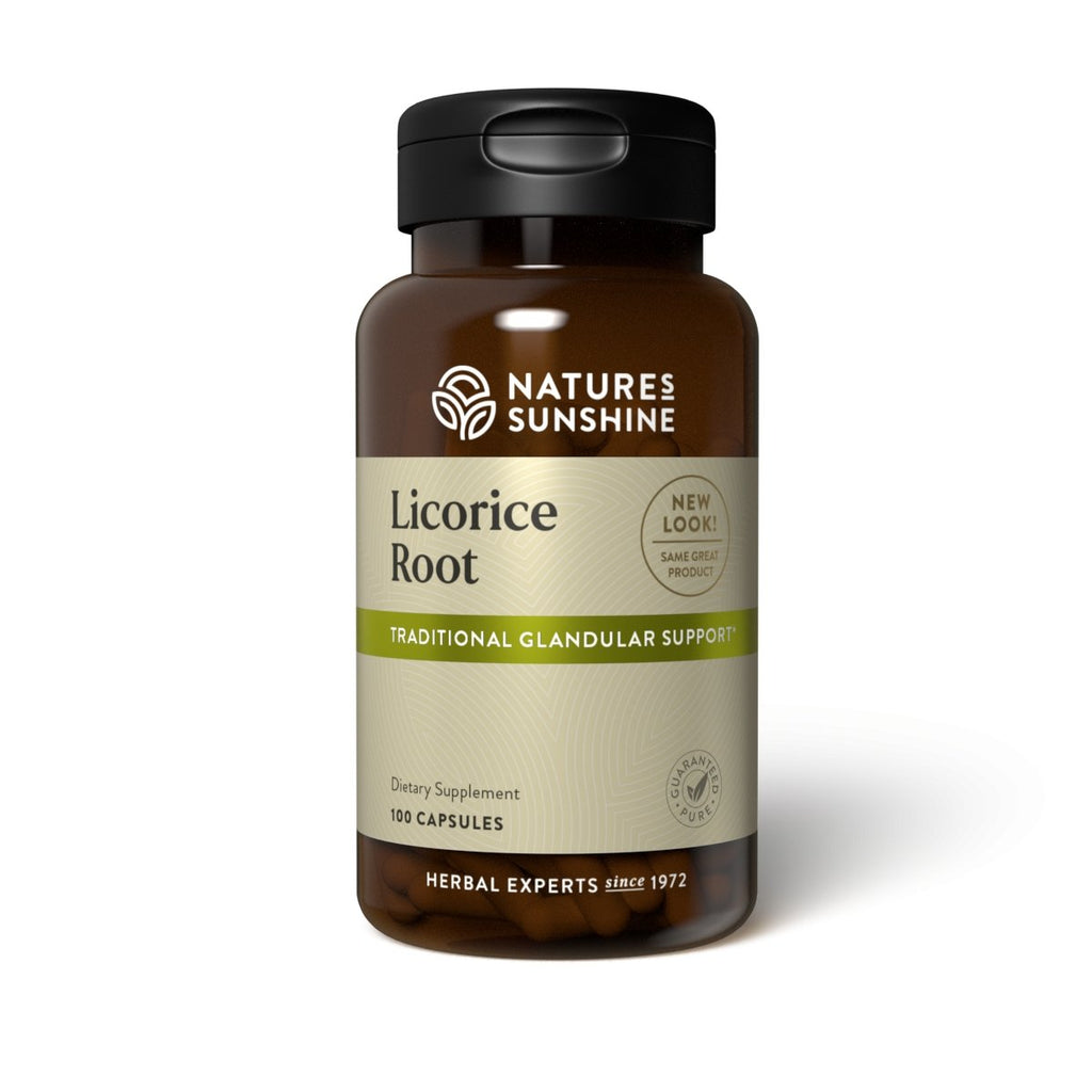 Nature's Sunshine Licorice Root (100 caps) - Nature's Best Health Store
