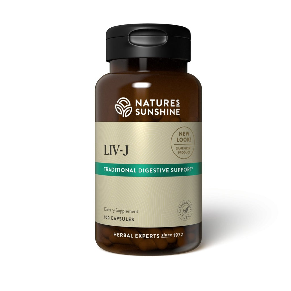 Nature's Sunshine LIV-J (100 Caps) - Nature's Best Health Store