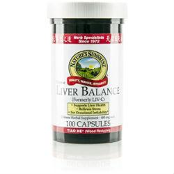 Nature's Sunshine Liver Balance, Chinese (100 caps) - Nature's Best Health Store