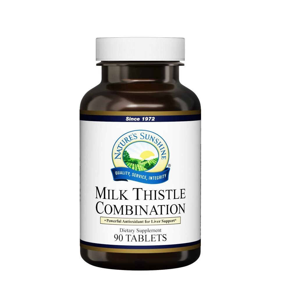 Nature's Sunshine Milk Thistle Combination (90 tabs) - Nature's Best Health Store