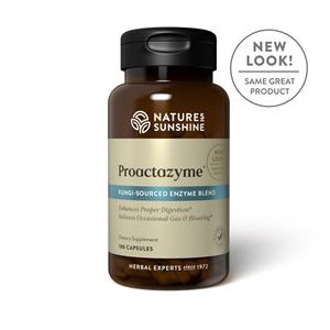 Nature's Sunshine Proactazyme (100 caps) - Nature's Best Health Store