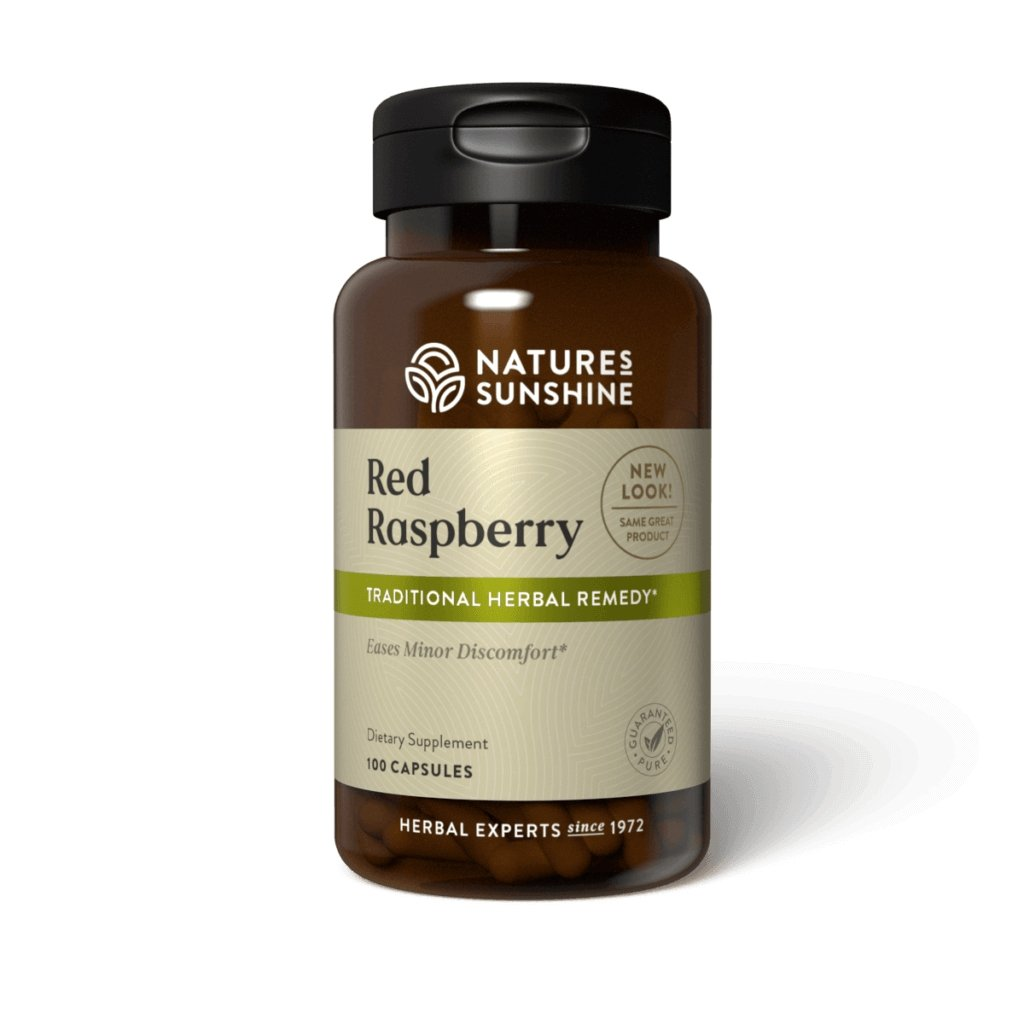 Nature's Sunshine Red Raspberry (100 caps) - Nature's Best Health Store