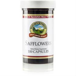 Nature's Sunshine Safflowers (100 caps) - Nature's Best Health Store