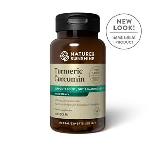 Nature's Sunshine Turmeric Curcumin (60 Capsules) - Nature's Best Health Store