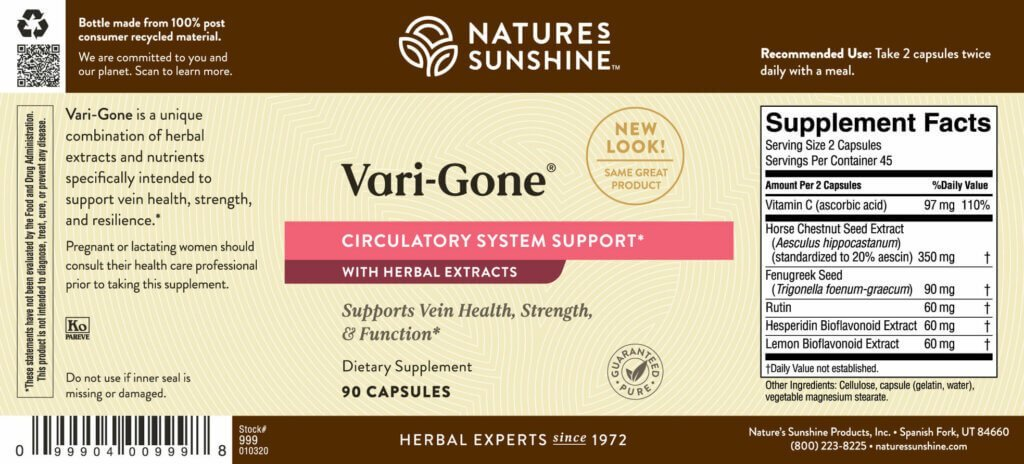 Nature's Sunshine Vari-Gone® (90 caps) - Nature's Best Health Store