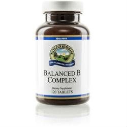 Nature's Sunshine Vitamin B Complex, Balanced (120 tabs) - Nature's Best Health Store