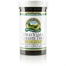 Nature's Sunshine Wild Yam & Chaste Tree (100 caps) - Nature's Best Health Store