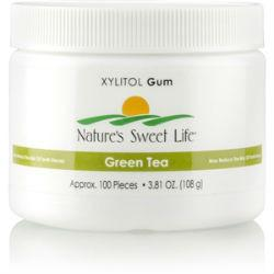 Nature's Sunshine Xylitol Gum (Green Tea) (100) - Nature's Best Health Store