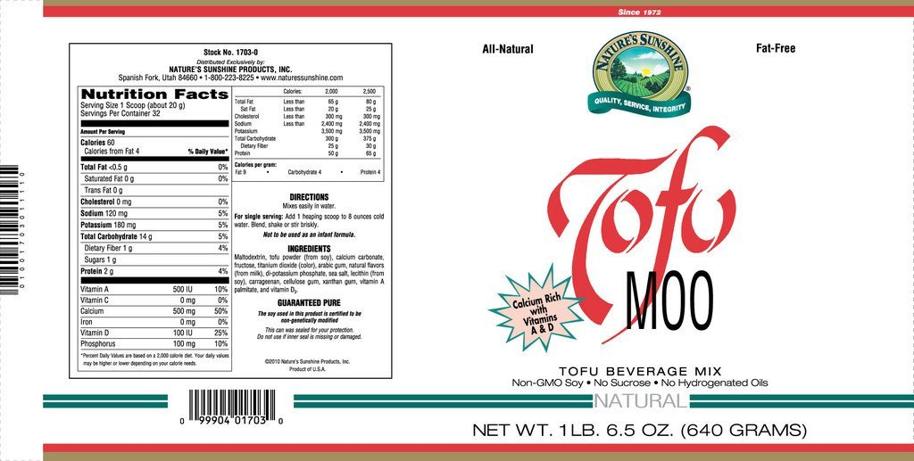 Tofu Moo Natural (22.5 oz.) - Nature's Best Health Store