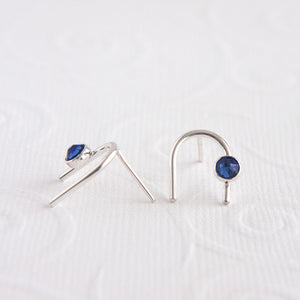 September Birthstone Earrings available at Micky Chase Jewelry