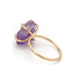 Bella February Amethyst Birthstone Ring available at Micky Chase Jewelry
