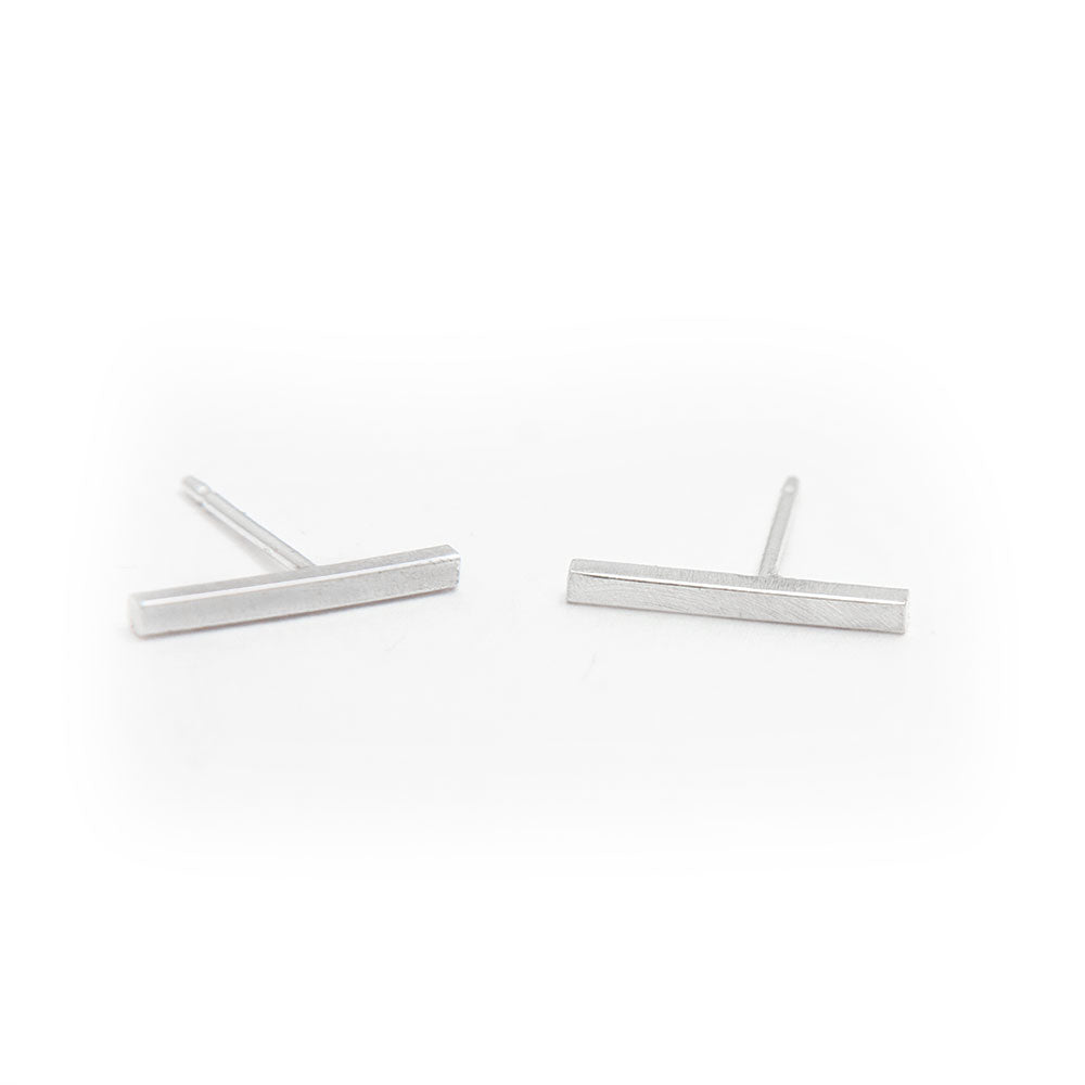 Gina Bar Stud Earrings available at Micky Chase Jewelry