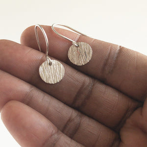 Sabrina Sterling Silver Dangle Earrings