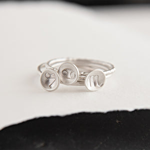 Scorpio Zodiac Stacking Ring