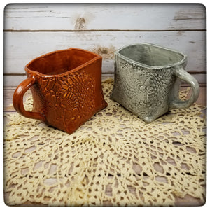 This Week Only: Crocheted Doily Mugs