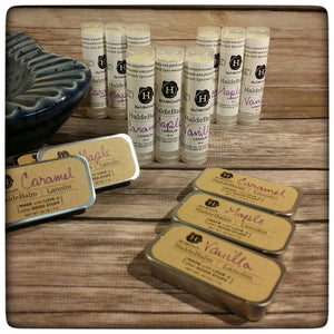 This Week Only: a set of three lip balms