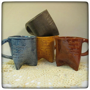 "This week only: ""Crafting since Birth"" mugs"