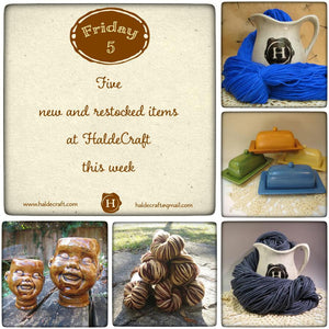 Five new and restocked items at HaldeCraft this week