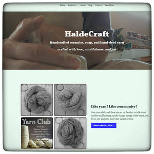 HaldeCraft has a new look