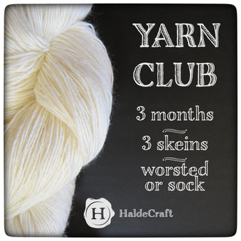 January - March 2018 Yarn Club