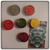 Doily magnet (set of six)