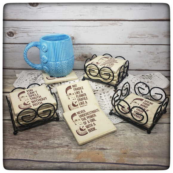 RBG coaster set (set of four)