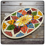 Colorful serving tray