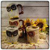 Sleepy Owl mug (small)