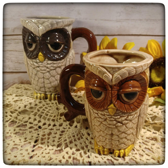 Sleepy Owl mug (large)