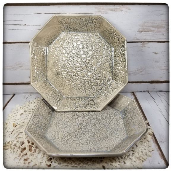 Skull Dish (medium octagonal)