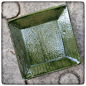Cable Stitch Dish (small square)