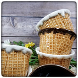 Waffle Cone bowl