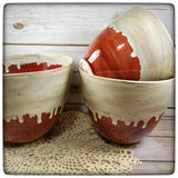 Nesting Mixing bowls (set of three; stoneware)