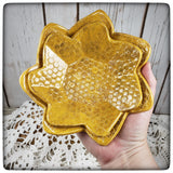 Honeycomb Nesting Dish set (small octagonal)